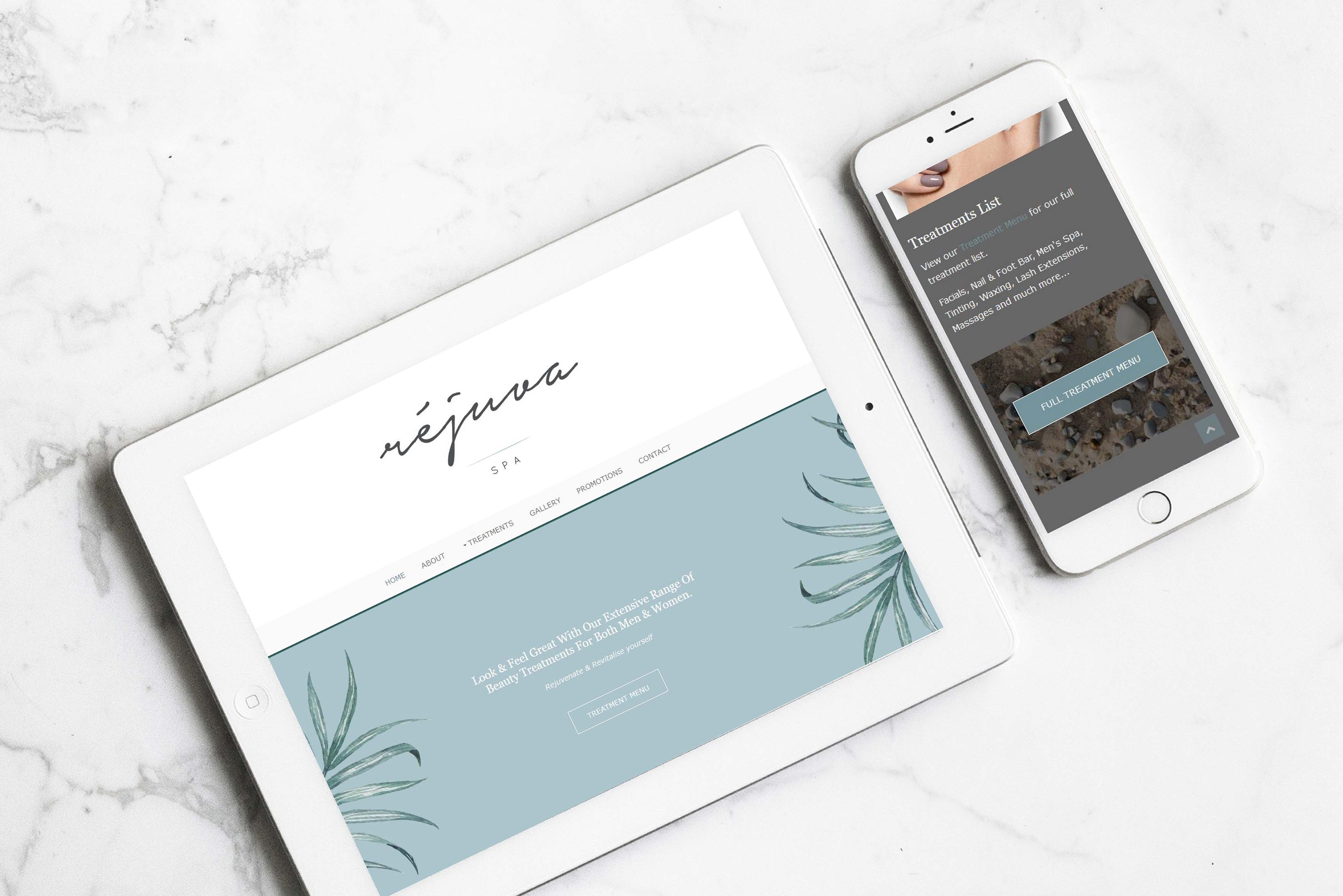 Rejuva Spa - Website Design