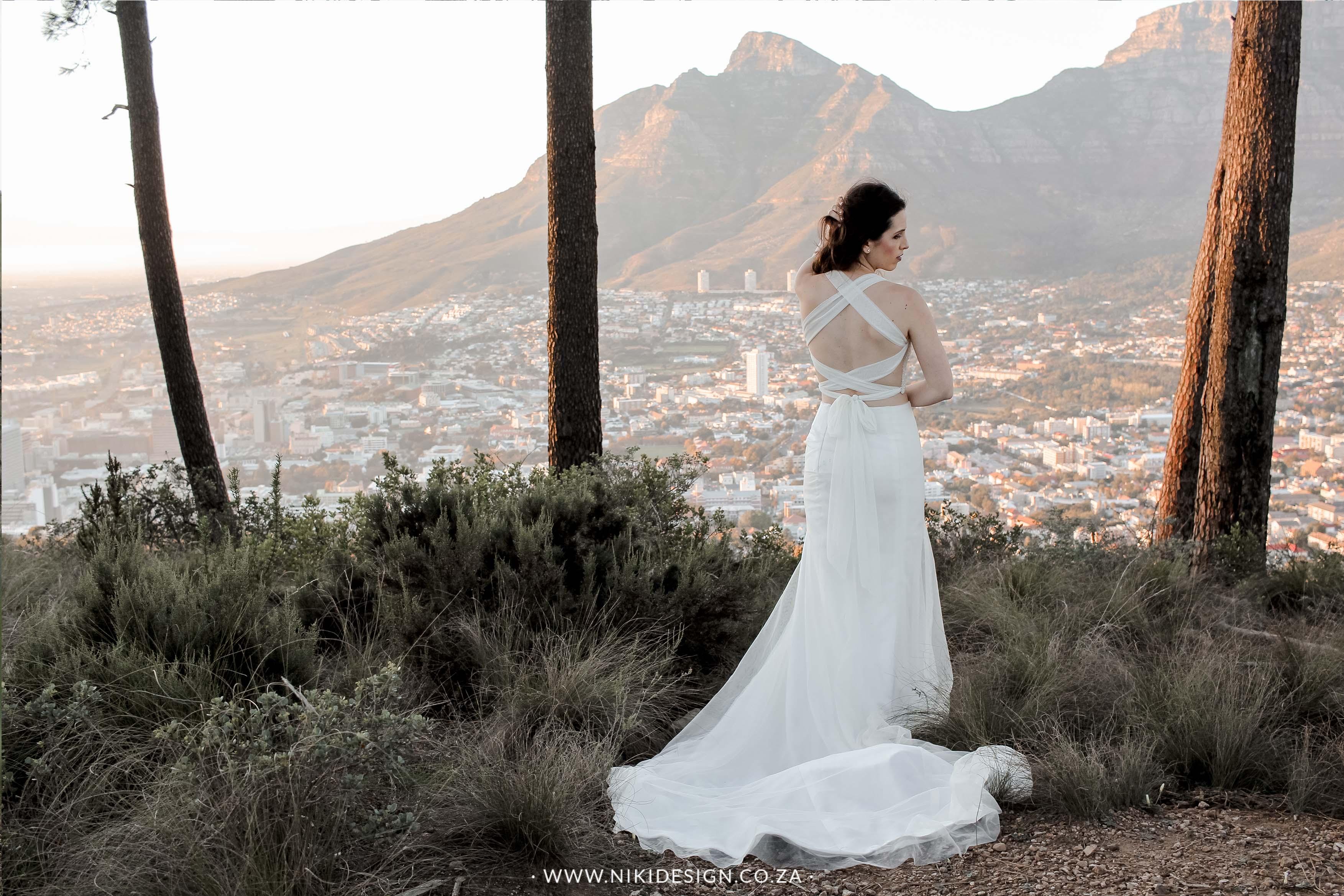 NikiDesign Studio Table Mountain wedding