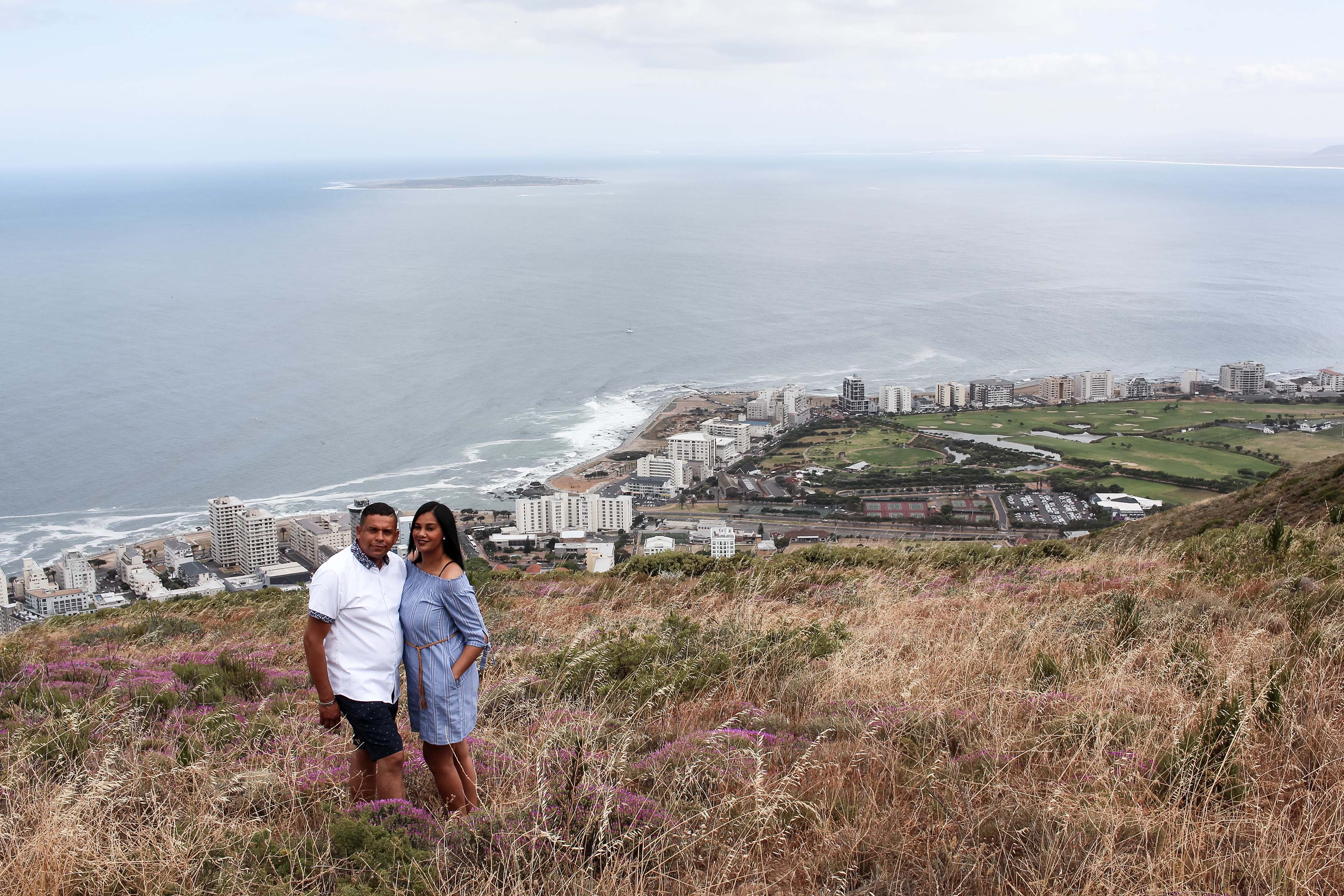 engagement shoot Signal Hill